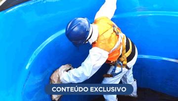 Higienização da caixa d'água é manutenção obrigatória